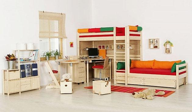 Velká fotografie dětského pokoje - Dětský pokoj 2