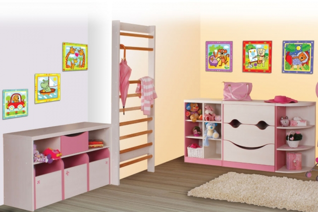 Velká fotografie dětského pokoje - Dětský pokoj Casper 2
