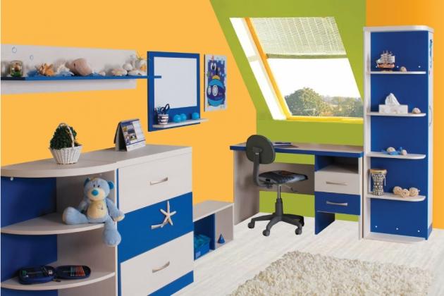 Velká fotografie dětského pokoje - Dětský pokoj Casper 4