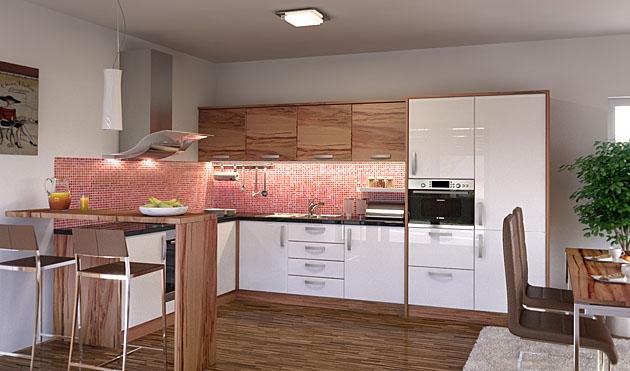 Velká fotografie kuchyně - Kuchyně 24