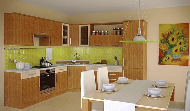 Velká fotografie kuchyně - Kuchyně 31