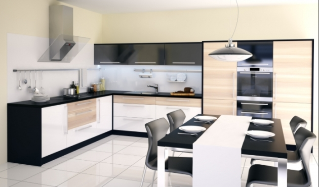 Velká fotografie kuchyně - Kuchyně 1