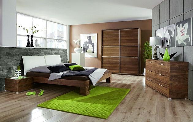 Velká fotografie ložnice, postele - Michelle