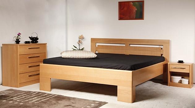 Velká fotografie ložnice, postele - Varezza