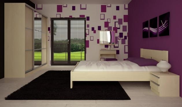 Velká fotografie ložnice, postele - Maxim 4