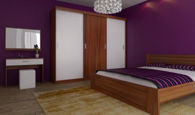 Velká fotografie ložnice, postele - Eden 5