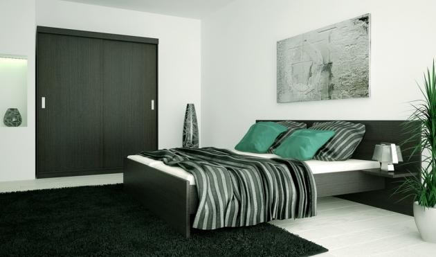 Velká fotografie ložnice, postele - Eden 6