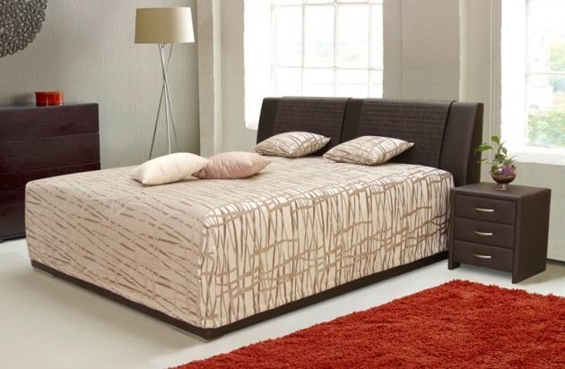 Velká fotografie ložnice, postele - Marianna
