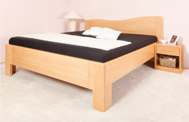 Velká fotografie ložnice, postele - K - design