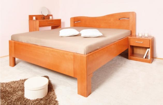 Velká fotografie ložnice, postele - K - design 2