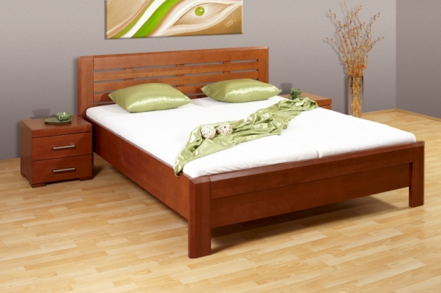 Velká fotografie ložnice, postele - Livia