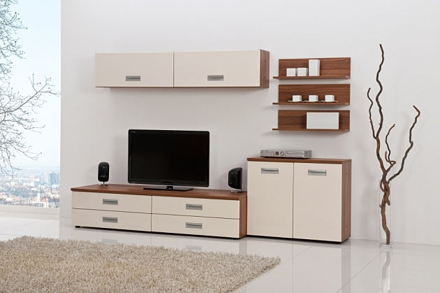 Velká fotografie obývací stěny - Obývací pokoj 3