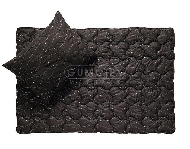 Velká fotografie sortimentu pro zdravý spánek - Ložní souprava Metallic (černá)