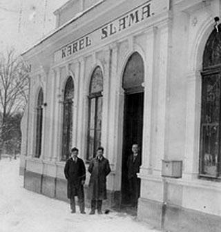 Fotografie z historie firmy Kasl nábytek
