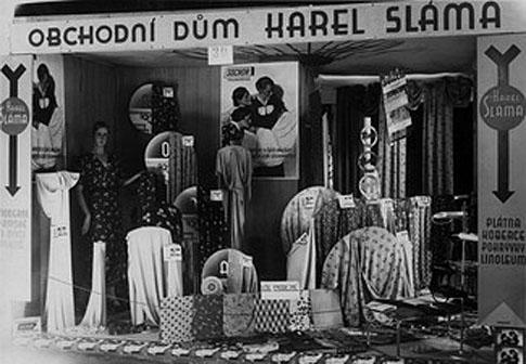 Historie firmy - Obchodní dům Karel Sláma