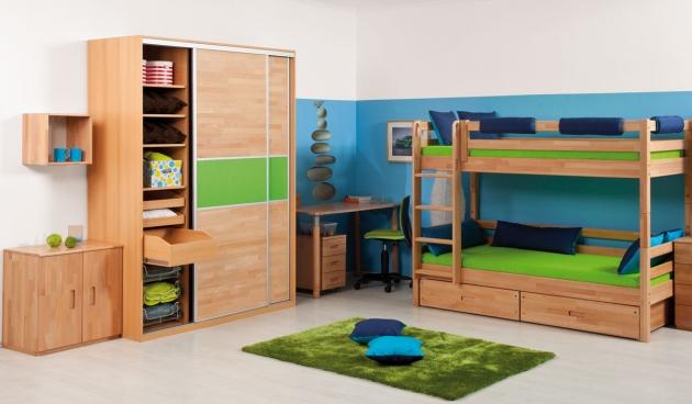 Velká fotografie dětského pokoje - Dětský pokoj Domino