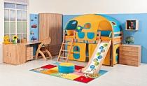 Fotografie dětského pokoje - Dětský pokoj Domino 2