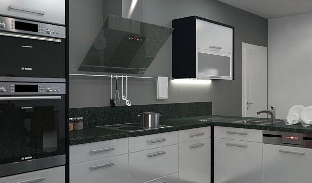 Velká fotografie kuchyně - Kuchyně 16