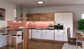 Menší fotografie kuchyně - Kuchyně 24