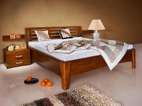 Menší fotografie ložnice, postele - Carolina