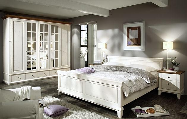 Velká fotografie ložnice, postele - Georgia