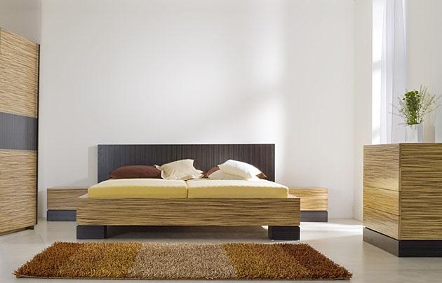 Velká fotografie ložnice, postele - Vera