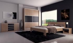 Menší fotografie ložnice, postele - Maxim 3