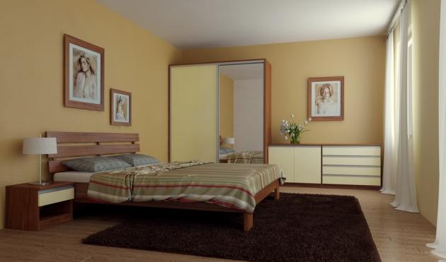 Velká fotografie ložnice, postele - Maxim 5