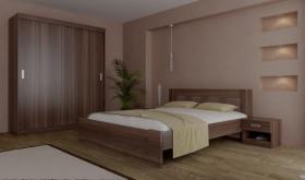 Menší fotografie ložnice, postele - Eden 2