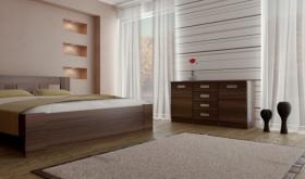 Menší fotografie ložnice, postele - Eden 3