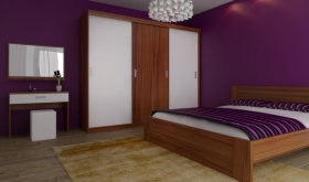 Menší fotografie ložnice, postele - Eden 5