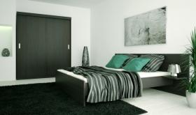 Menší fotografie ložnice, postele - Eden 6