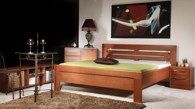 Velká fotografie ložnice, postele - Arleta 2