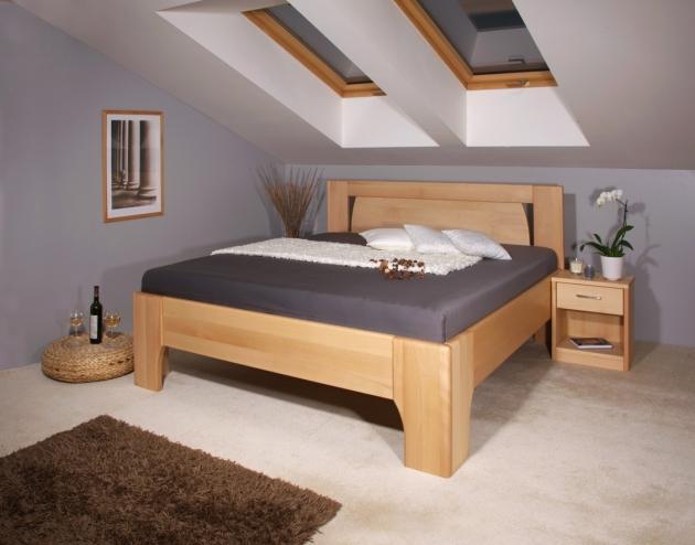 Velká fotografie ložnice, postele - Olympia 1