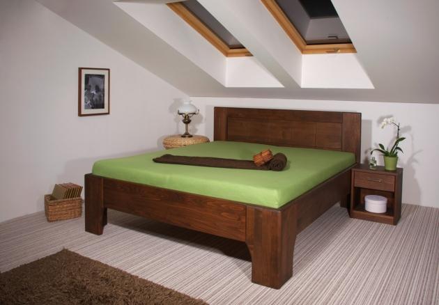Velká fotografie ložnice, postele - Olympia 2