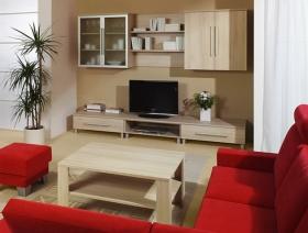 Menší fotografie obývací stěny - Obývací pokoj 1