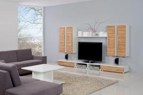 Menší fotografie obývací stěny - Obývací pokoj 2