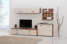 Menší fotografie obývací stěny - Obývací pokoj 3