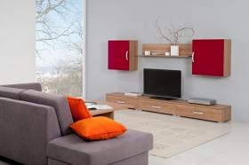 Menší fotografie obývací stěny - Obývací pokoj 4
