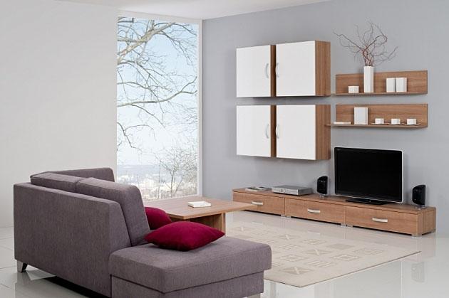 Velká fotografie obývací stěny - Obývací pokoj 5