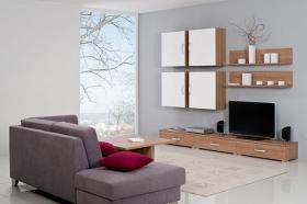 Menší fotografie obývací stěny - Obývací pokoj 5