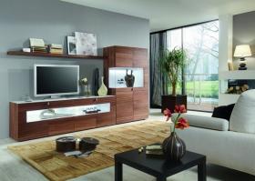Menší fotografie obývací stěny - Silvana