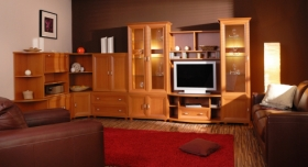Menší fotografie obývací stěny - Celine