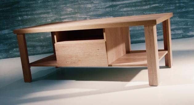 Velká fotografie stoly a stolky - Dakota 12
