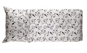 Menší fotografie zdravý spánek - Povlečení Tencel Oriental (bílo-černé)