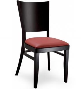 Menší fotografie dřevěné židle - 313 367 čalouněná